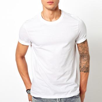 867fb48d9028b summer hot sale white t shirt printing bulk custom cotton blank white t-shirt  men