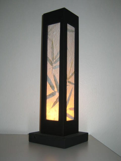 2 Piece Wooden Paper Asian Style Table Lamp   Buy Table Lamp Product On  Alibaba.com