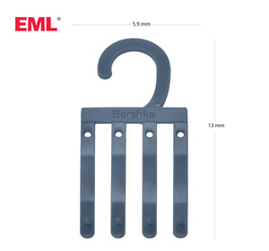 Eco-friendly plastic socks hook and small supermarket display hook