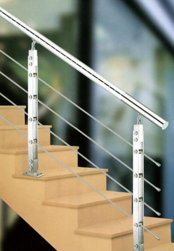 Fibra de vidrio de aluminio extra ble barandilla for Pasamanos de aluminio