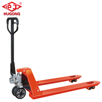 Wholesales factory price 3000kg 2500kg rubber pu wheel hand truck ce hydraulic manual pallet jack