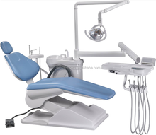 Economcial Blue color Dental Chair Unit with best dental chair price
