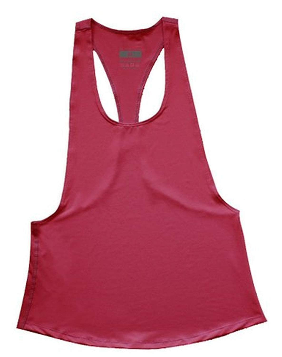 Q&Y Women's Sexy Casual Loose Open Side Sleeveless Sport Tank Top