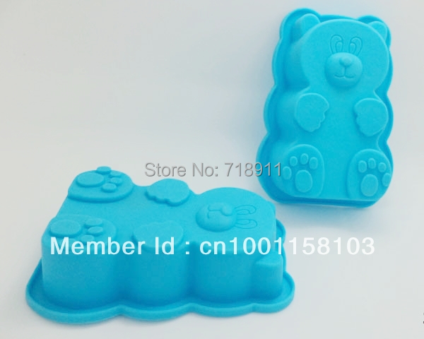 Teddy Bear Cake Pan Silicone