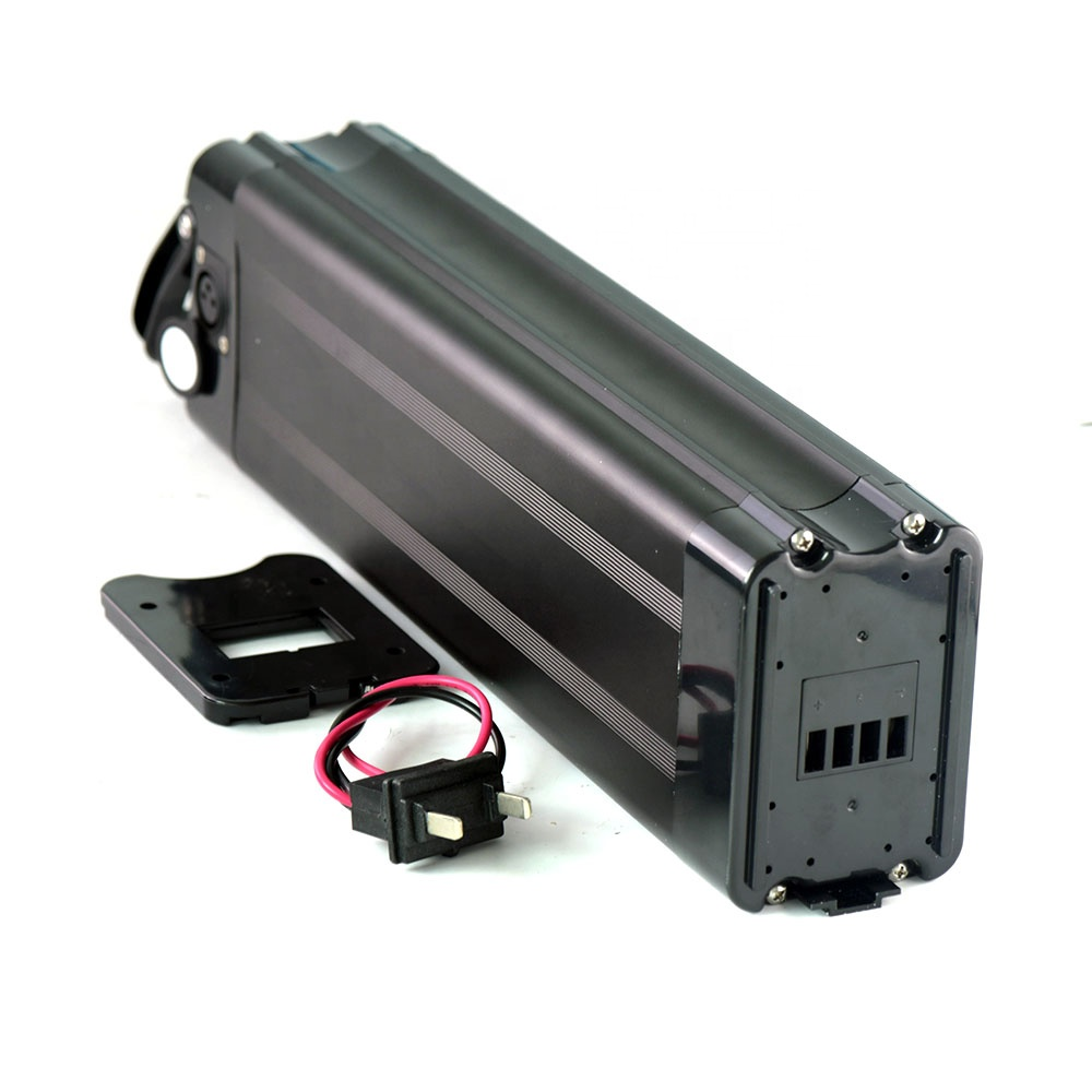 Fat tire ebike battery 750W motor use silver fish battery 48v 15ah, Silver case or black case
