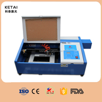 Factory supply 40W mini crafts Laser Engraver, rubber stamp portable CO2 laser engraving machine