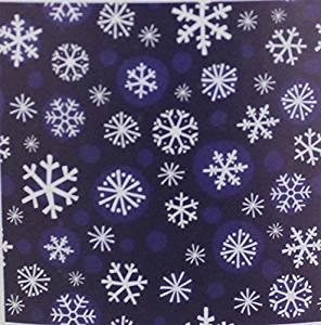 Holiday Time Snowflake Design Plush Throw, Blue