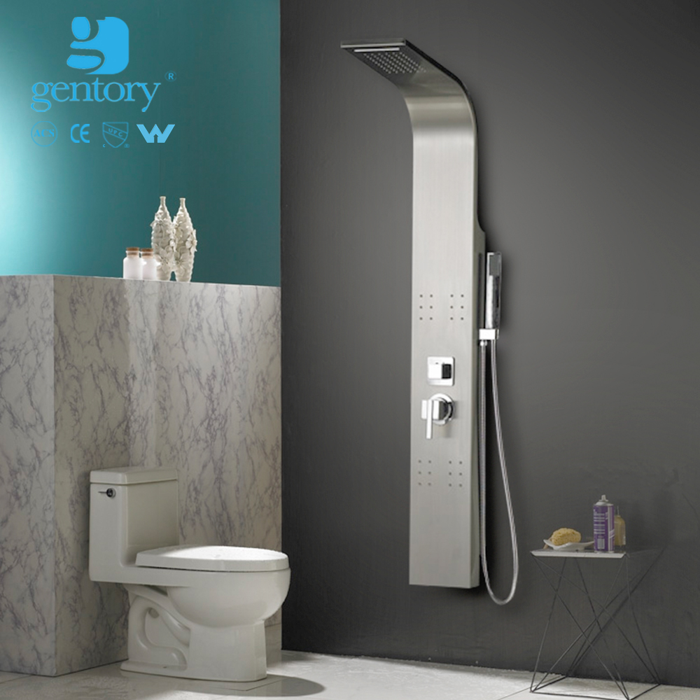 S272 new models douche handset bathroom mixer mirror finish shower 4 sides bath showers