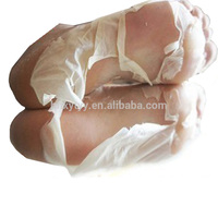 Factory direct exfoliating foot peel mask bag for male and female