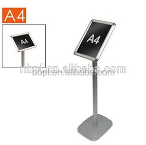 round base menu poster stand a3 metal sign holder