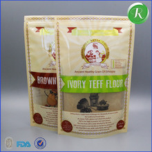Packing Bag bread Flour plastic laminated coco flour packaging bag