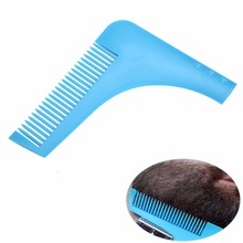 2017 New Comb Beard Trimmer Shaping Tool Sex Man Gentleman Plastic Private Label Beard Comb