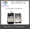 hot sale 3 x AAA Battery Holder Box with high quality