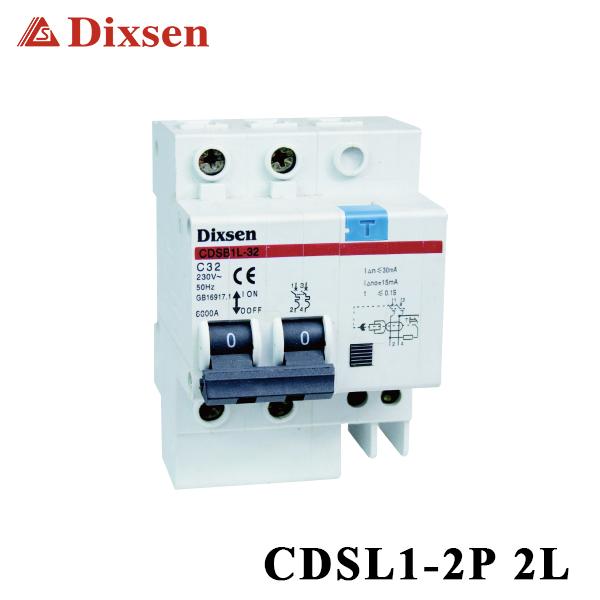 DZ47LE-32 2p C32 32A 230V Earth Leakage Protection Circuit Breaker