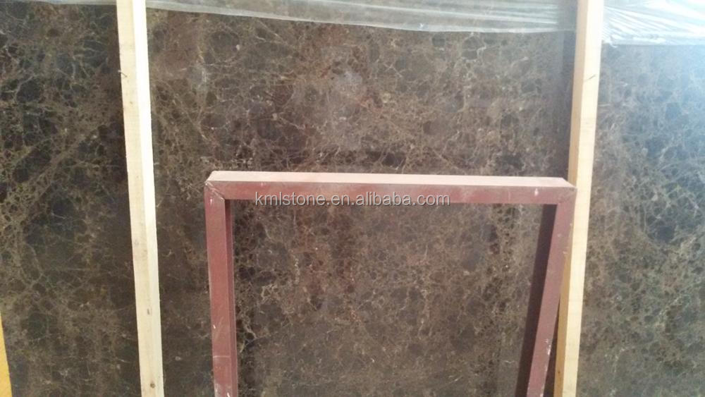 China Light Brown Marble Emperador Light Marble Slab for sale