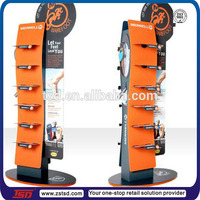 TSD-M577 Custom retail shop metal display rack for sports shoes,decoration for shoe shop,furniture for shoe store