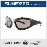 Cover spray on special design motor sunglasses and motorcycle sunglasses