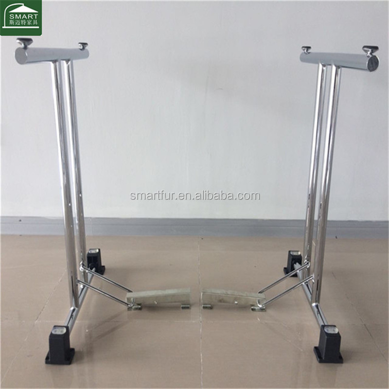 Hot selling chrome furniture fittings for folding tables