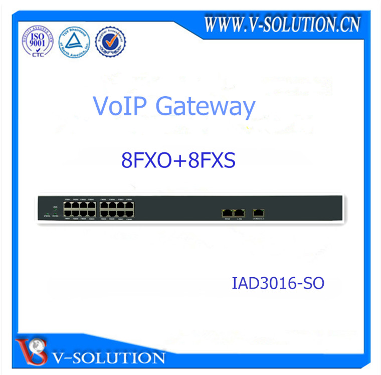 8FXS and 8FXO analog phone to VoIP Phone voice Gateway similar to Yeastar