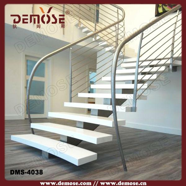 Al aire libre de madera de lujo de la mano escaleras for Escalera de madera al aire libre precio