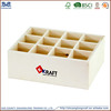 Hot sale! 2015 new design natural cheap used wooden milk bottles crates for sale