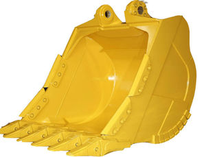 Yellow Color Wheel Loader High Quality Rock Bucket For Komatsu