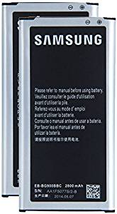 Cellstarr, New 2X 2800mAh Lithium-ion Rechargeable Replacement Batteries EB-BG900BBC for Samsung Galaxy S5 GT-i9600, SM-G900A, SM-G900V, SM-G900T, SM-G900P, SM-G900R4, SM-G900T1, S5 Active SM-G870