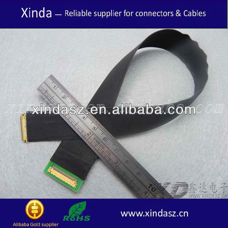 Lcd/lvds cables for tv /medical cable assembly
