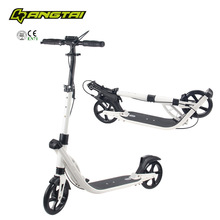 pro kick scooter 2 large wheels adult scooter with two suspension pedal kick scooter