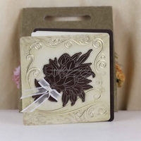 New branded love wedding cards wooden craft