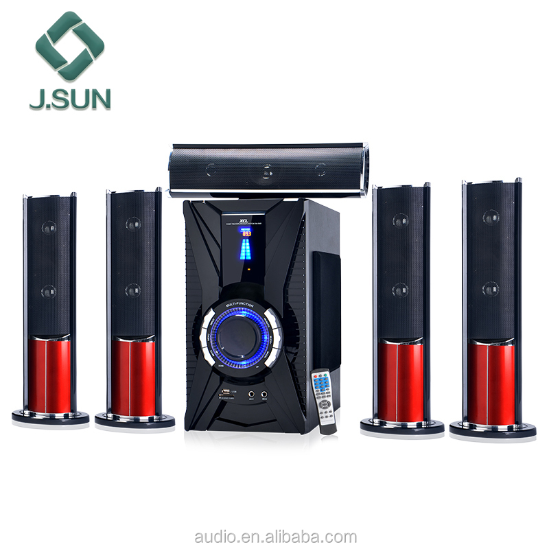 New subwoofer hi-fi system guangzhou sound 5.1 speaker