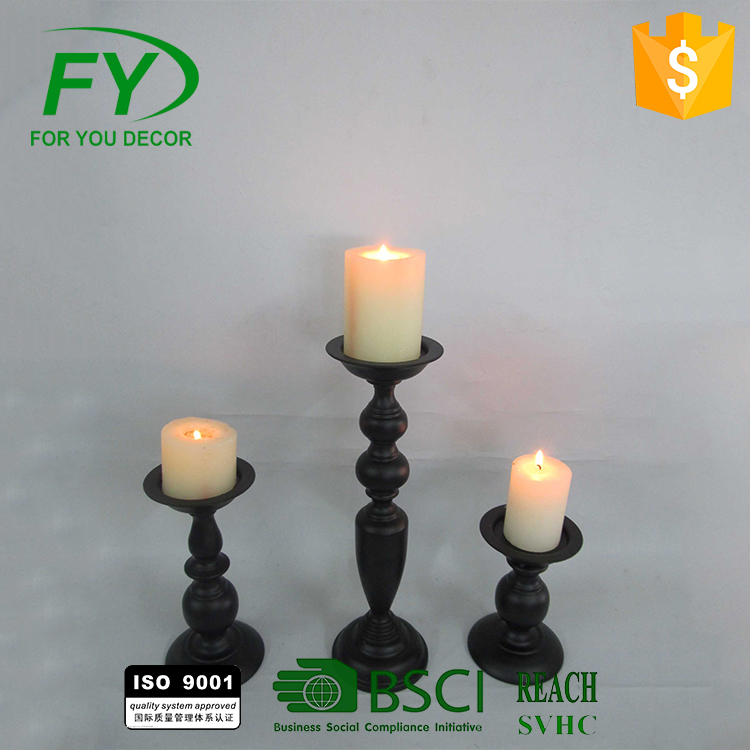 CH-31356 Hot Popular Home Goods Antiques Candle Holder Candlestick Wedding