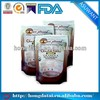 OEM food packaging plastic cups stand up bags pouches