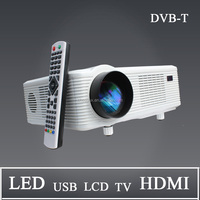 Home Theater Data Projector Reviews With hdmi usb vga tv Media Tuner Connect Computer/tv/dvd/phone/ipad