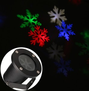 Promotion Price Outdoor LED Snowflake Laser Projector Christmas Light