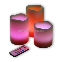 12 Color Changing Flameless LED candles