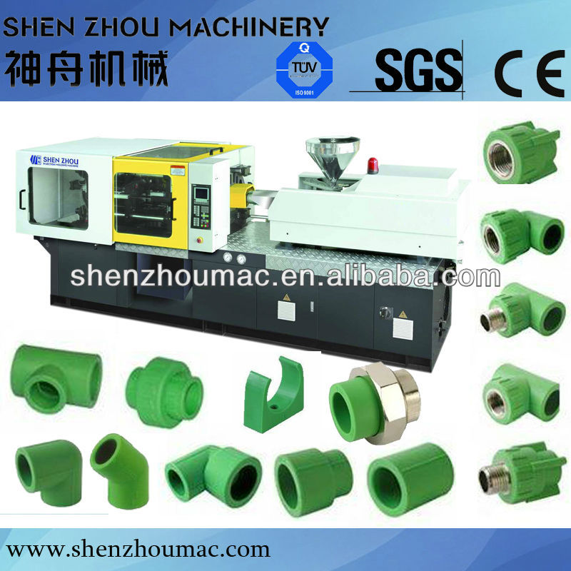 PPR fittings injection molding machine /70ton -750ton injection molding machine