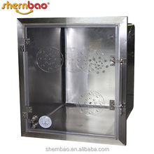 Shernbao KA-509-TH Veterinary Therapy Oxygen Dog Cage Fiberglass Dog Kennel Pet Products