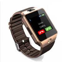 2019 Relojes Inteligentes Bluetooth GPS Tracking Sim Phone DZ09 Smart Watch