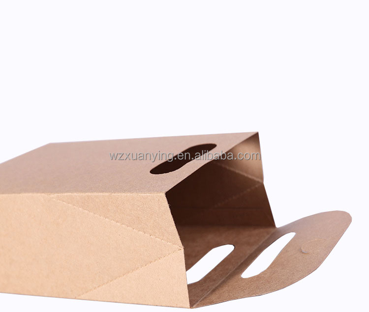 emporter fast food sac de papier vente chaude pas cher personnalis de qualit alimentaire caf. Black Bedroom Furniture Sets. Home Design Ideas