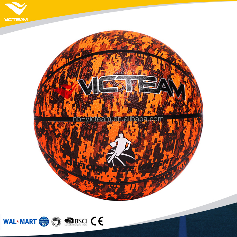 Nice Looking Promotional PVC Sponge Play Basketball With Custom Logo