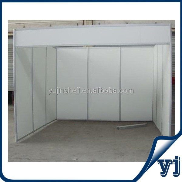 Guangzhou simple standard exhibition display booth/ carton fair portable aluminum exhibition stand