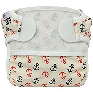 Bummis Swimmi Swim Cloth Diaper - Anchors Away -Large 22 - 30 lbs / 10 - 13.5 kg by Bummis