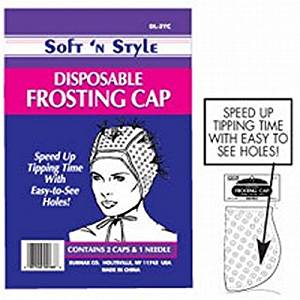 Soft 'n Style 2 Circled Tipping Cap With Needle (DL-2TC)