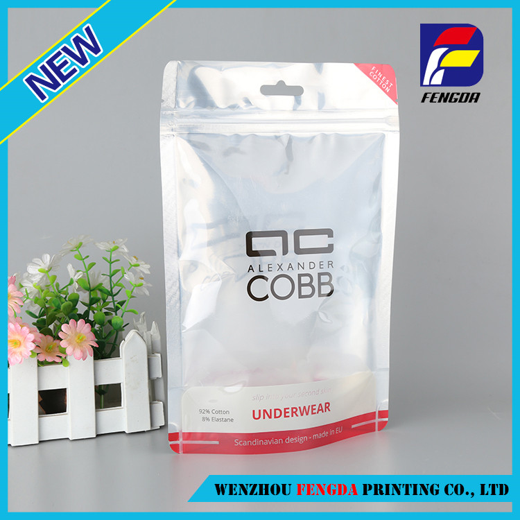 Latest arrival custom printing clothing cosmetics stationery bags pvc material eva bag
