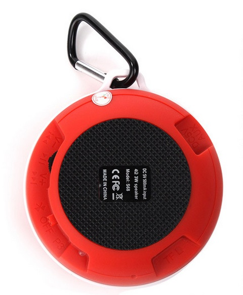 Wholesale promotion gifts lovely mini bluetooth speakers with ABS material.