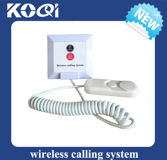 Wireless Nursing call system for hospital clinic with display receiver bell button watch and light
