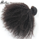 no tangle no shed 4c afro kinky curly brazilian human hair weave bundles sew in weave