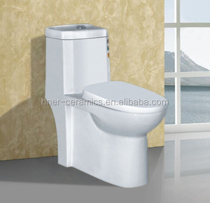 New design china supplier cheap ceramic one piece ceramic toilet,European standard sanitary wares one piece toilet with siphon