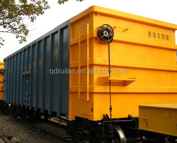 Low Price Open Top Railway Wagon Car, C80B Heavy-duty freight train carriage, Most professional supplier in China